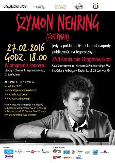 Szymon Nehring w Radomiu 27.02.2016